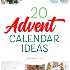 20 Advent Calendar Ideas to Make!