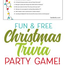 christmas trivia game perfect for christmas parties printable fun trivia - Fun Christmas Trivia