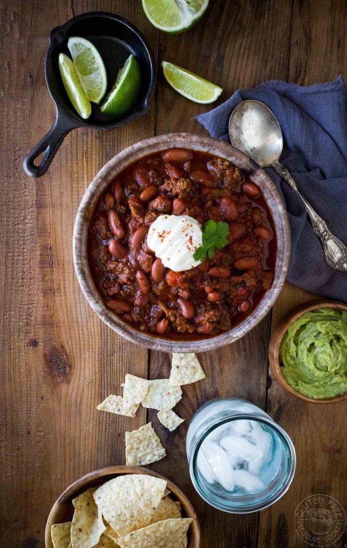 Instant Pot Gluten Free Chili