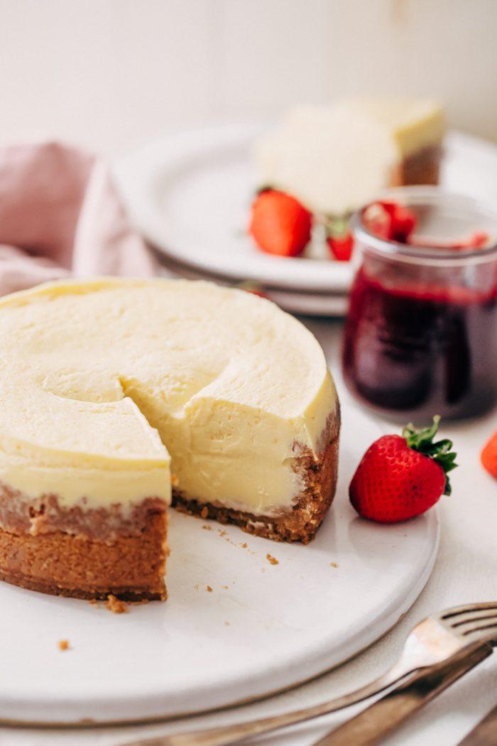 New York Style Instant Pot Cheesecake Recipe