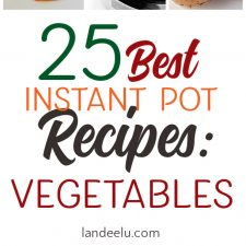The Best Instant Pot Recipes: Vegetables!