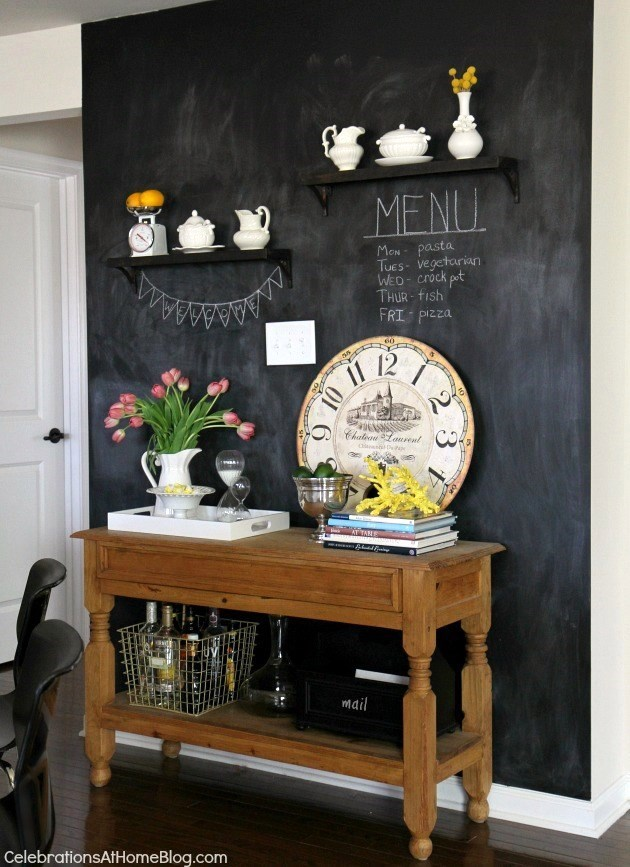 Chalkboard Wall | Celebrations at Home
