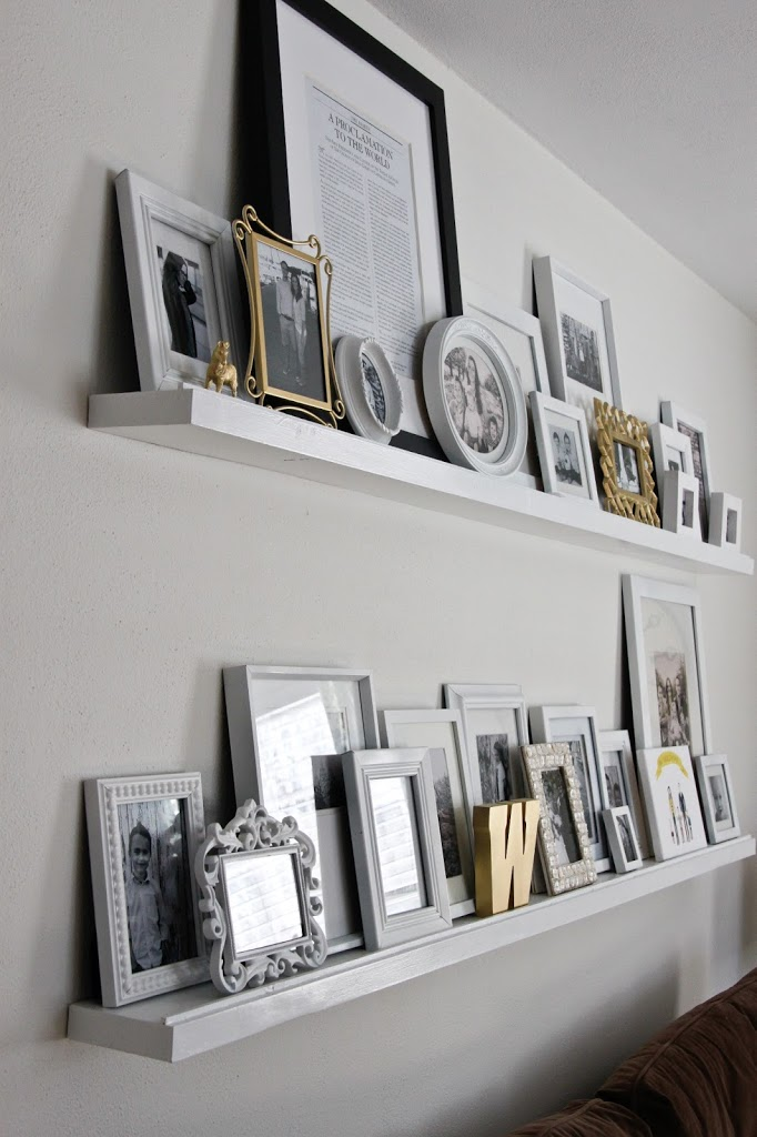 DIY Floating Shelves | Colors and Craft