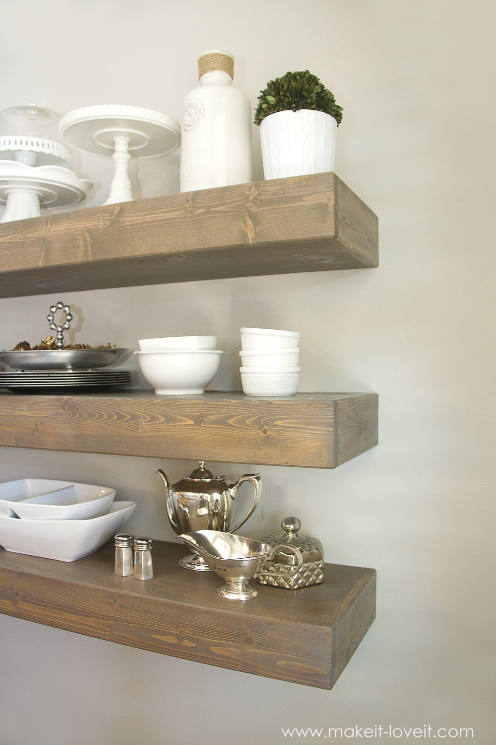 Fabulous DIY Floating Shelves to Make! - landeelu.com