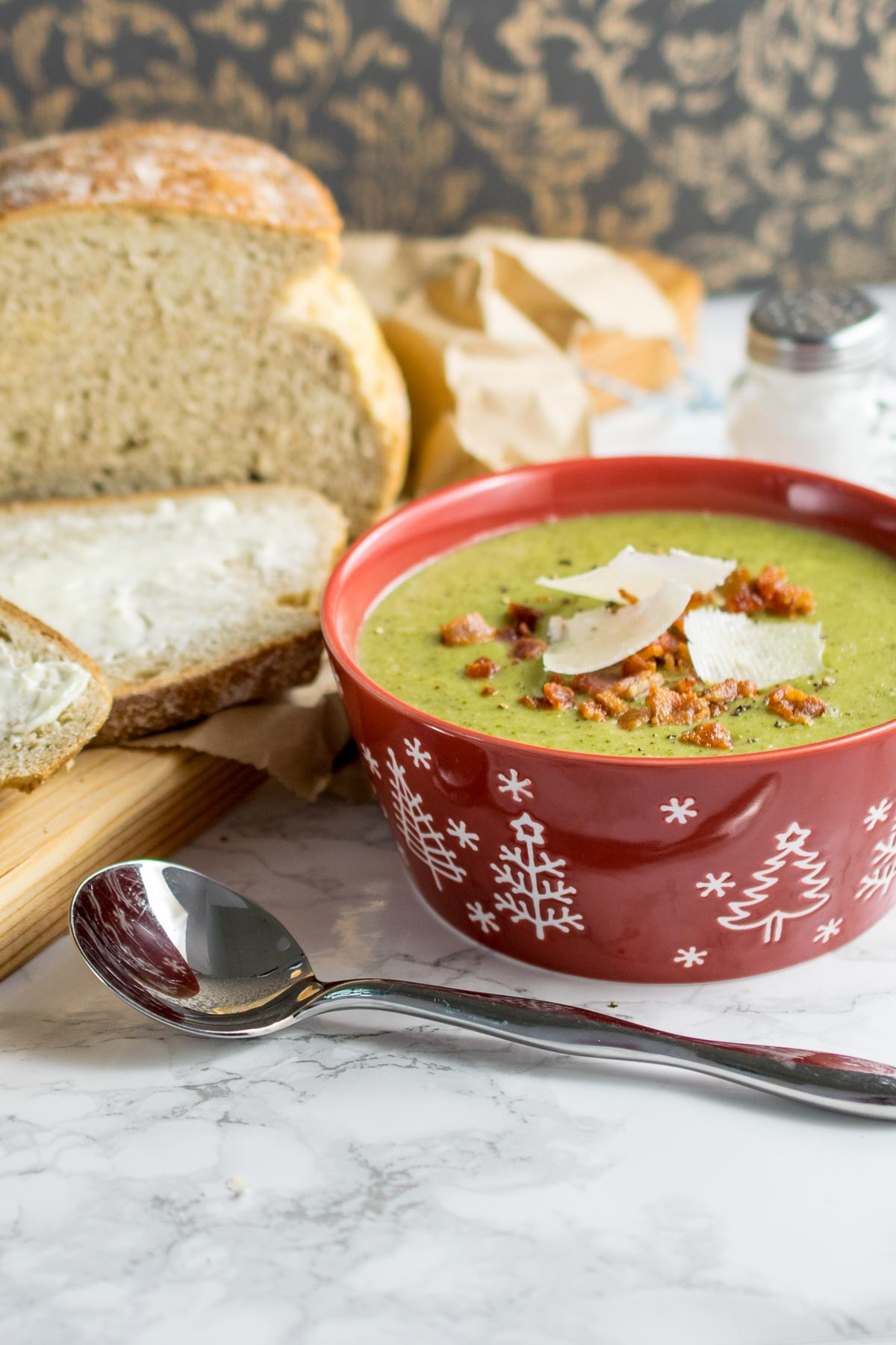 Instant Pot Broccoli & Bacon Soup | Every Nook and Cranny