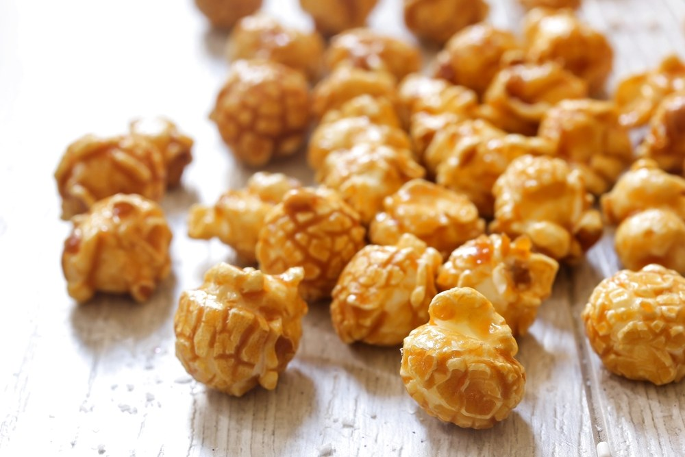 Instant Pot Caramel Popcorn | Recipe This