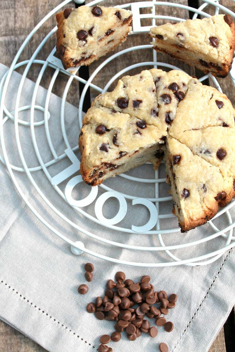 Crockpot Chocolate Chip Scones | Baking Queen 74