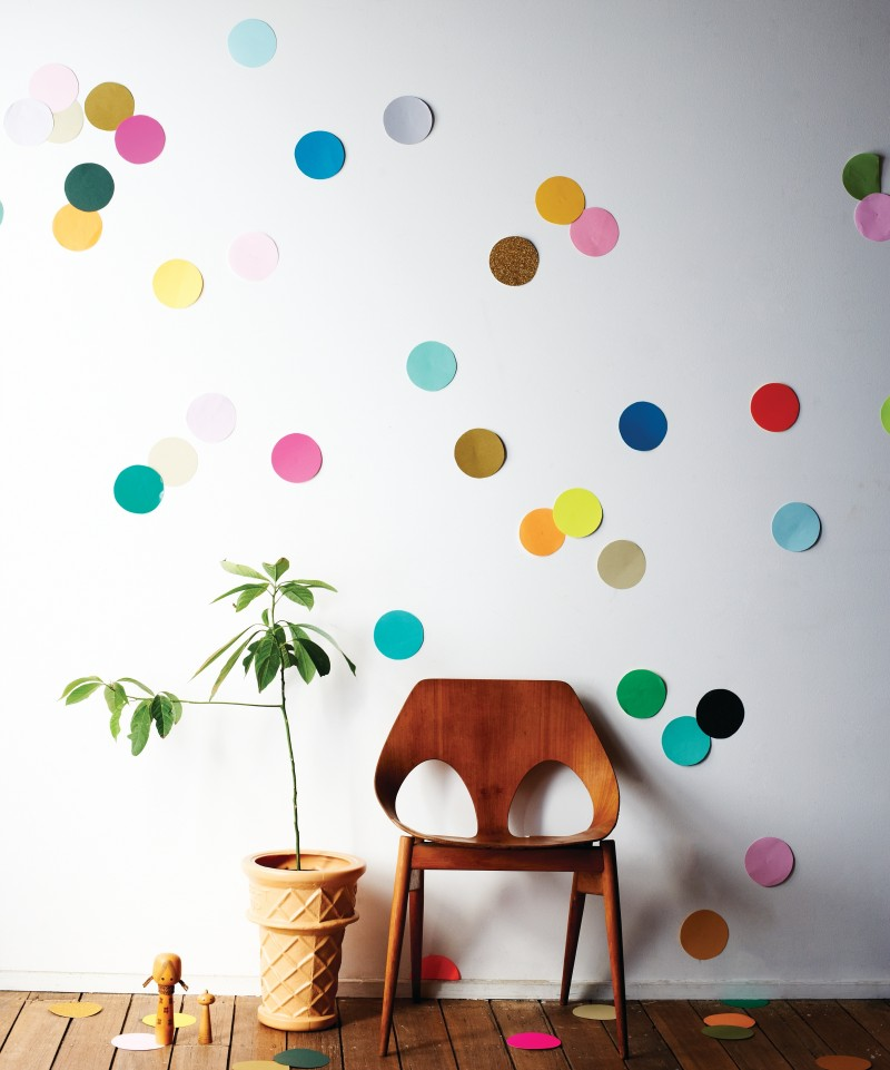 DIY Giant Confetti Wall | Wee Birdy