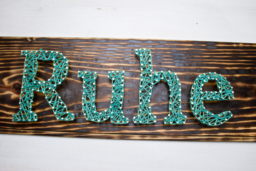 DIY String Sign | Look What I Made