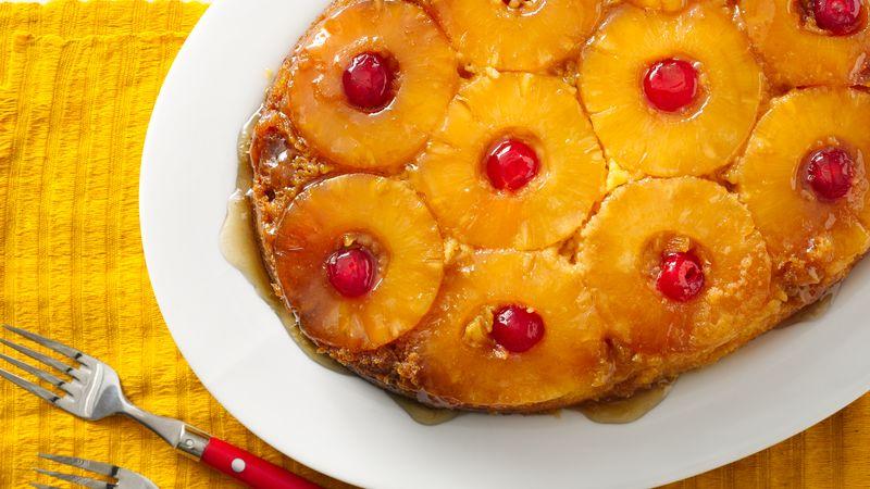 Slow-Cooker Pineapple Upside Down Cake | Betty Crocker