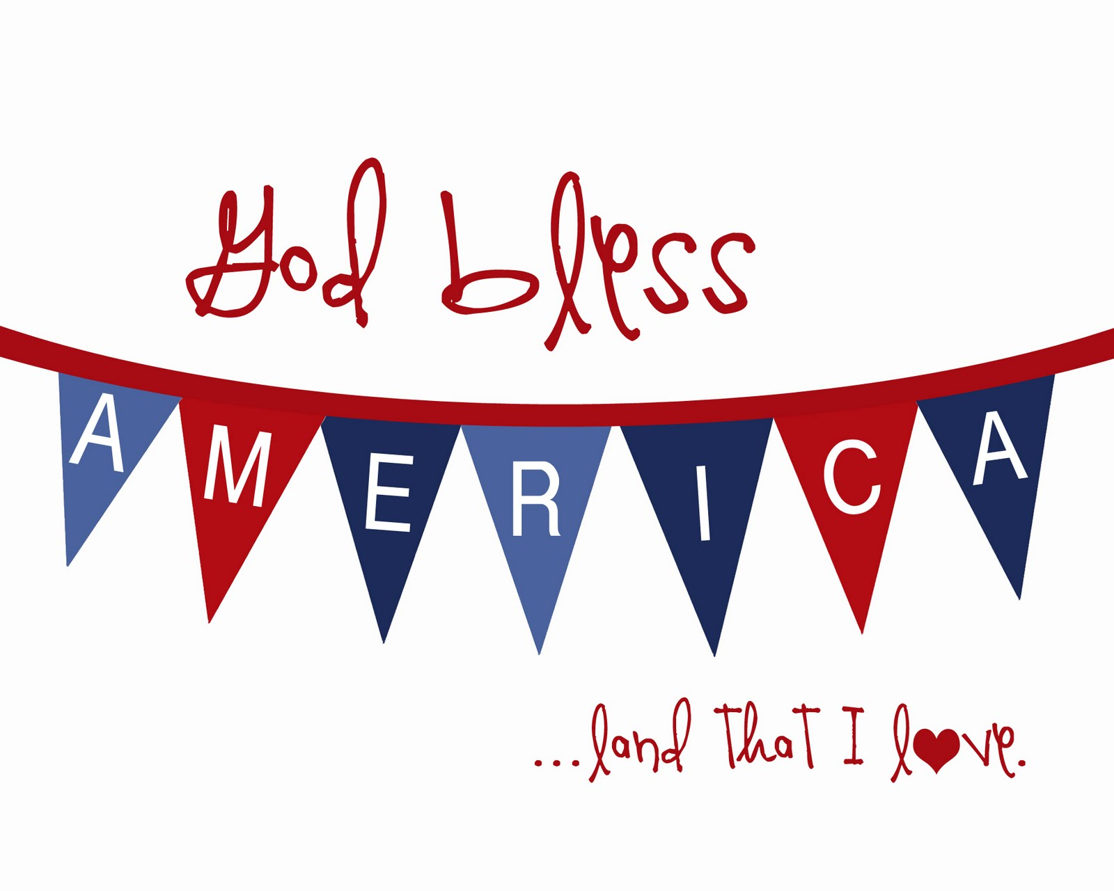 Donna's Blog: Happy Fourth of July, Landeelu