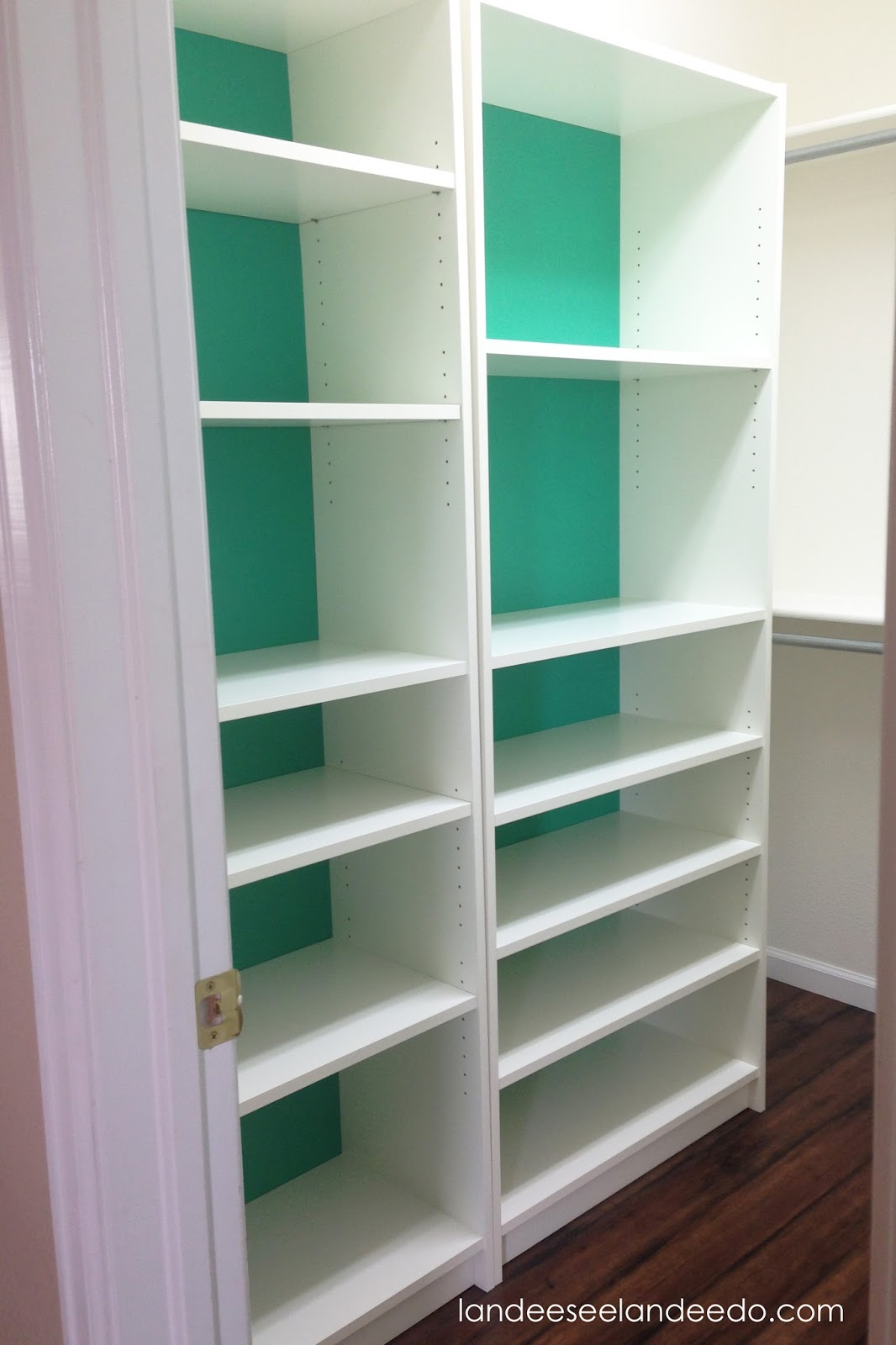 Closet Makeover Ikea Billy Bookcases Landeelu Com