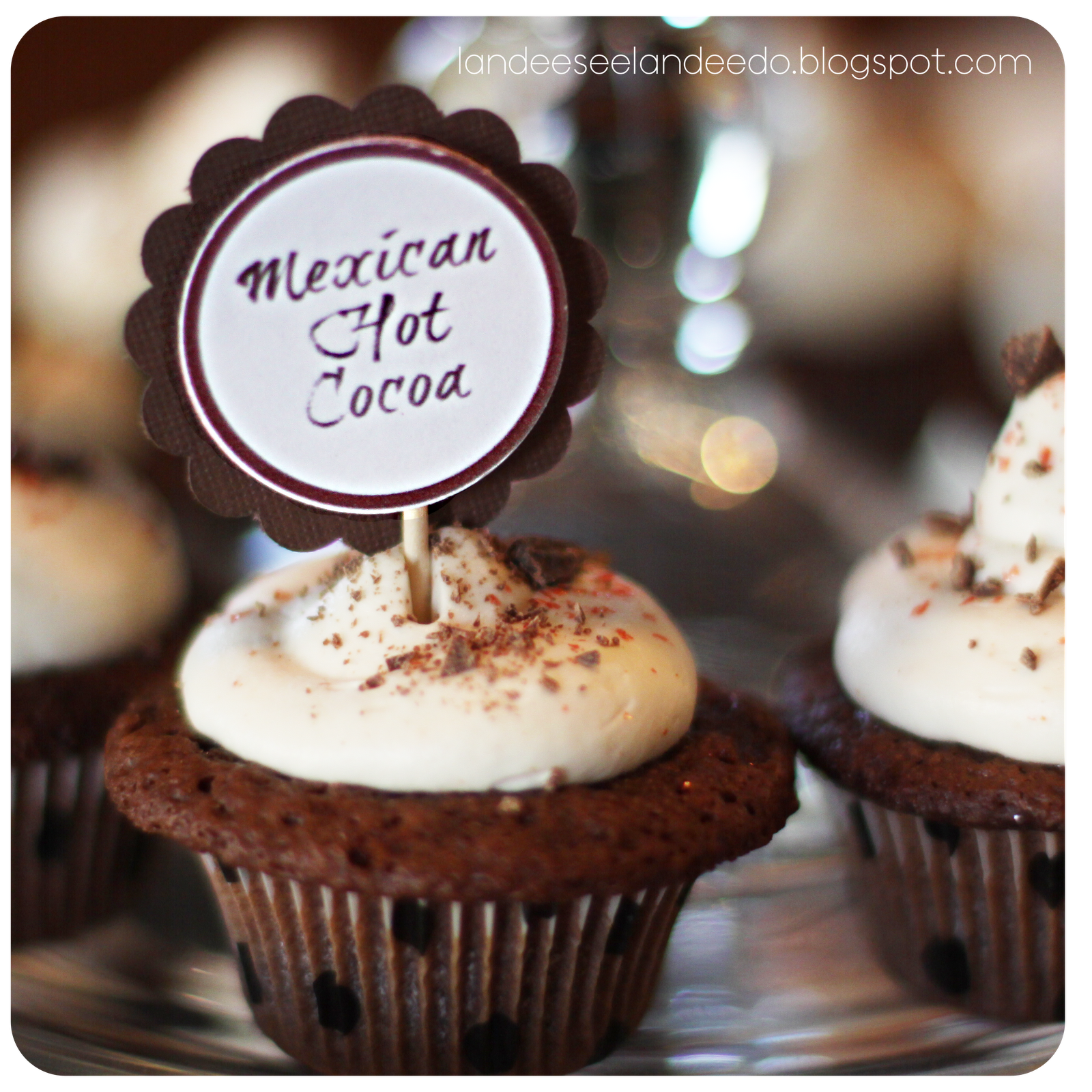 mexican hot chocolate cupcakes mexican hot chocolate cupcakes mexican ...
