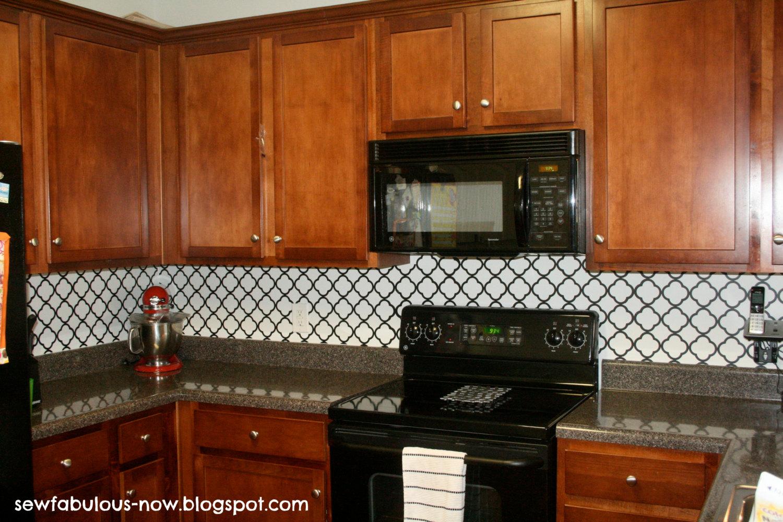 Vinyl Kitchen Backsplash Vinyl Kitchen Backsplash Home Design Ideas