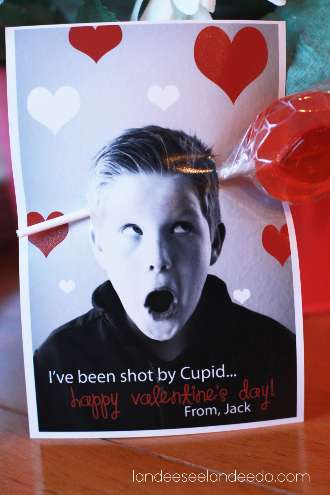 Valentine Photo Card Ideas  landeelucom