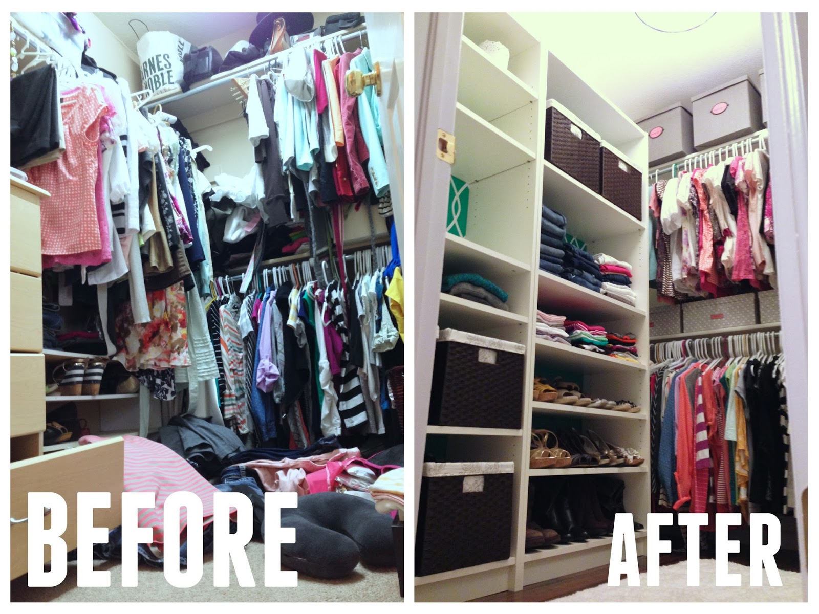 before closets with a closet shared organizing messy california domicile kids