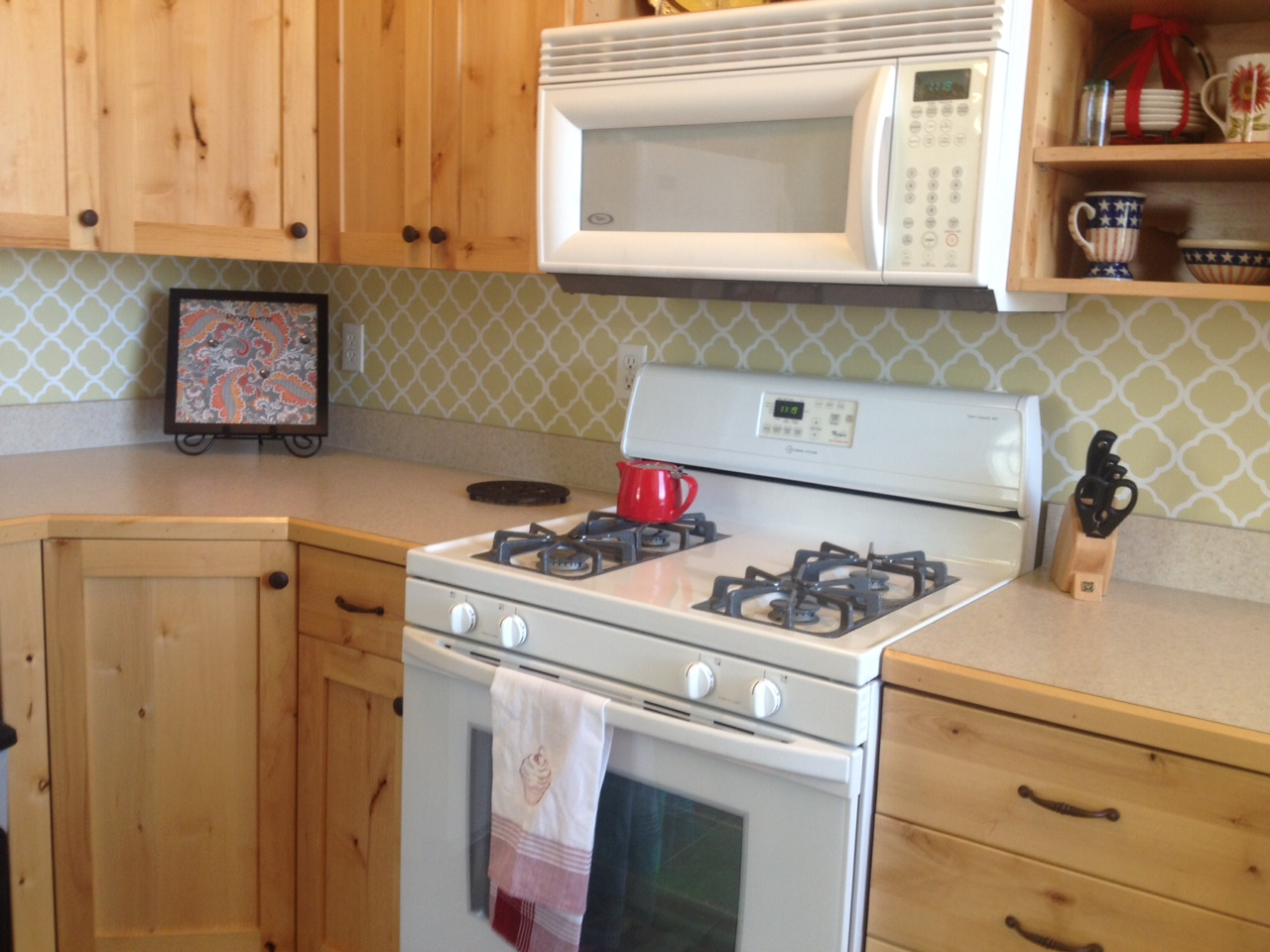 Kitchen Wallpaper Backsplash 5 Decor Ideas Enhancedhomesorg Wallpaper Backsplash Kitchen