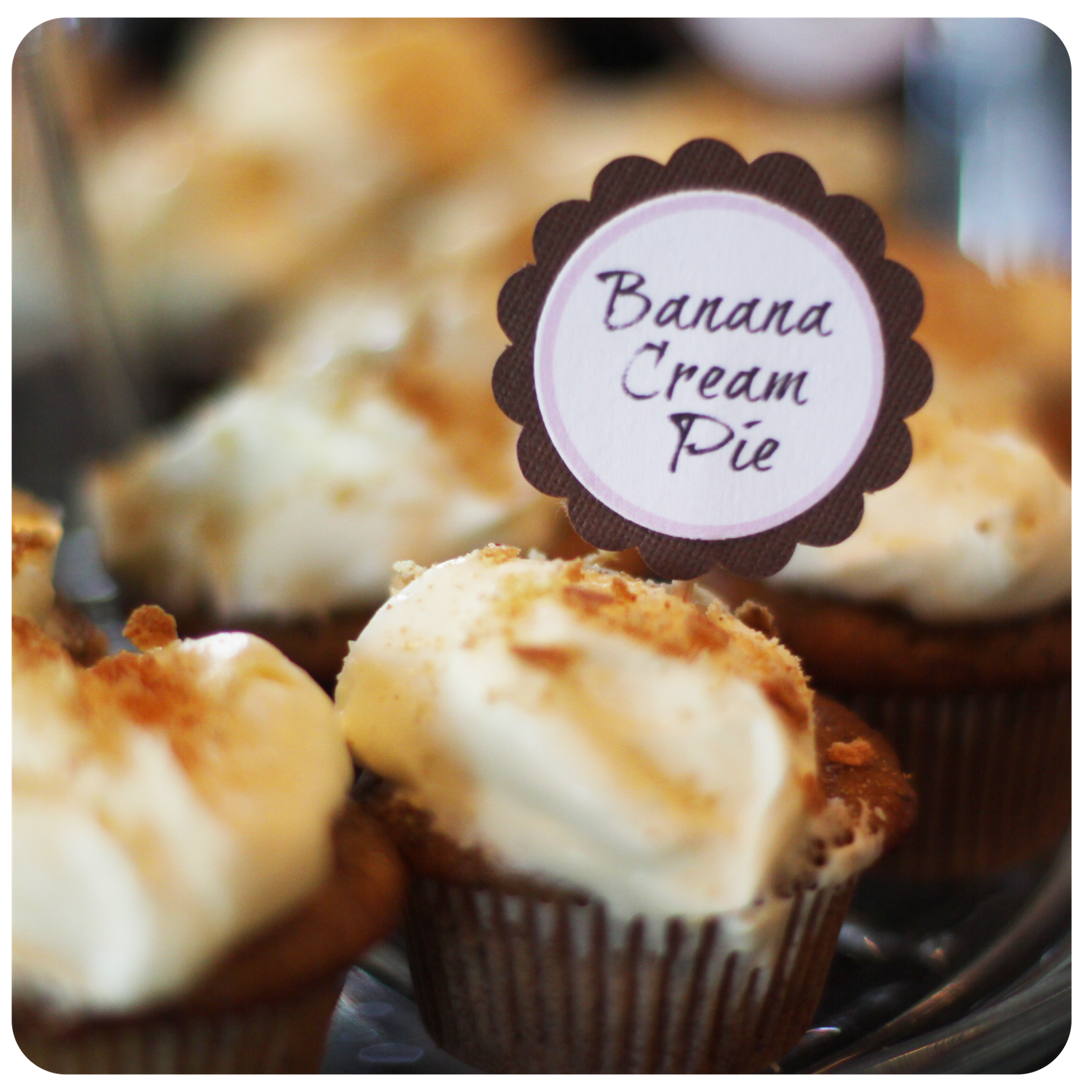Banana Cream Pie Cupcakes | Cupcake Ideas | Pinterest